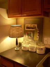 ideas of small kitchen countertop lamps