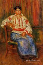 pierre auguste renoir paintings for young roumanian