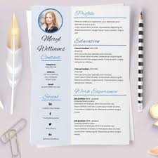 Elegant Resume. Resume Word Template. From Laurelresume On Etsy