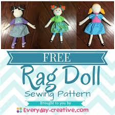 Free Rag Doll Patterns