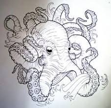 Small Picture kraken tumblr sketch Google Search octo Pinterest Octopus
