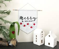 Simple Christmas Banner With The Cricut Maker Ameroonie