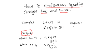winsome cxc csec cape maths how to solve simultaneous equations graphically full size