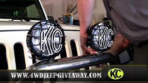 jeep lights winner installing kc hilites slimlites jeep lights winner installing kc hilites slimlites