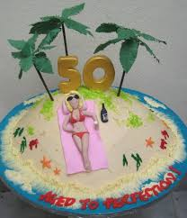 9 Unique 50th Birthday Cakes Women Photo 50th Wedding Anniversary