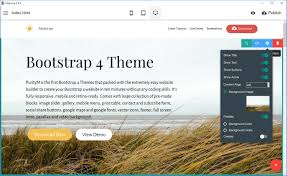 4 to a page template free bootstrap 4 template 2019