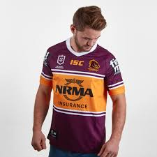 isc brisbane broncos nrl 2019 home s s rugby shirt