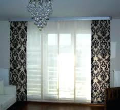panel curtains for sliding glass doors a door size and blackout single curtain