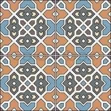 Pattern In Spanish Custom Spanish Traditional Ornament Mediterranean Seamless Pattern Tile