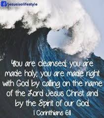Image result for 1 Corinthians 6:11