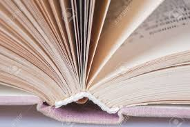 old book binding and page close up photo stock photo 91583499