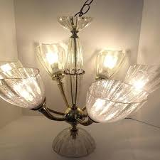 chandelier bulb cover light vintage bulbs throughout decorations