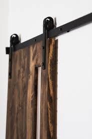 GOSO Sliding Barn Door Hardware Kit 6.6 ft (2 m) Solid Steel ...