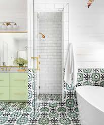 Black And White Shower Tile Designs Adorable Black White Bathroom Tile Designs Beautiful Design