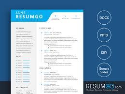 Alexius Modern And Professional Resume Template Resumgocom