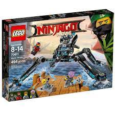 LEGO Ninjago Movie Water Strider 70611 Building Kit 494 Piece >>> You can  find more details by visiting the image link.(It is Amazon… | Lego ninjago,  Lego, Hình ảnh