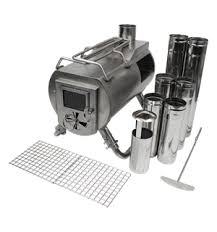 Gstove Cooking - Unique Camping Stove with integrated oven and glass