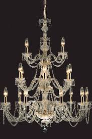 prociosa georgian lead crystal chandelier czech republic impg20 96cm dia x 115cm high chain 18 lights 25w