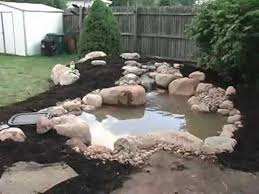 how to build a small pond 2 of 2 youtube