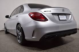mercedes benz 2015 c class white. preowned 2015 mercedesbenz cclass 4dr sedan amg c 63 mercedes benz class white