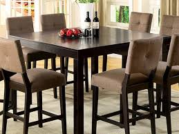 Kitchen Counter Height Tables Kitchen Table Creative Ideas Tall Square Dining Table Clever