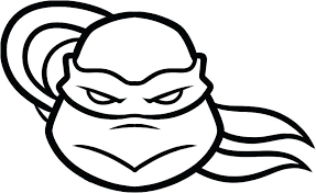Ninja Turtles Coloring Pages Free Michelangelo Turtle Page Appealing