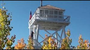Lookout Tower Plans Ute Mountain Fire Lookout Tower On The Ashley National Forest In