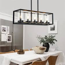 image restaurant kitchen lighting. Post Modern New Nordic Rectangular Restaurant Dining Room Kitchen Table Cafe Lustres Pendant Lights Suspension Luminaire Lampin From Image Lighting