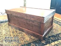 trunk table furniture. Wood Trunk Table Rustic Storage Chest Wooden Blanket  . Furniture