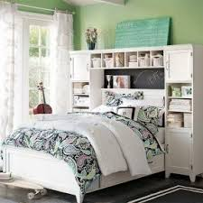 girls bed furniture. green teenage girls bedroom ideas with white storage furniture bed o