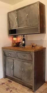 industrial kitchen furniture. Vintage 1950\u0027s Stripped Metal Kitchen Cabinets Industrial-kitchen Industrial Furniture