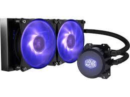 <b>Cooler Master MasterLiquid</b> ML240L RGB CPU Liquid Cooler ...