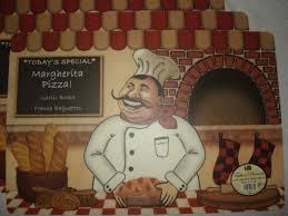 fat chef pizza bread bakery kitchen decor vinyl foam back placemats set of 4