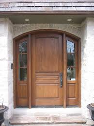 interesting stone wall and brown wooden arched home depot interior doors with black handle doors and