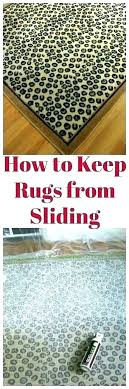 how to keep rugs from slipping on carpet s stop carpets do you area moving forum
