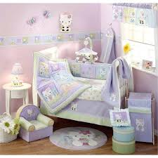 baby girl purple crib bedding sets dragonfly nursery bedding