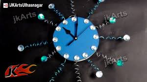 Small Picture DIY Designer Wall Clock How to Make JK Arts 483 YouTube