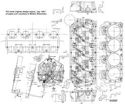 hemi engine layout race car blueprints plymouth hemi engine layout