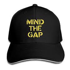 Amazon Com Mind The Gap Unisex Adjustable Baseball Hat