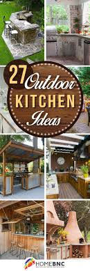 Outdoor Kitchen Design 25 Best Ideas About Outdoor Kitchen Design On Pinterest Outdoor