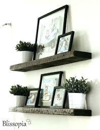 6 foot white floating shelf reclaimed barn wood shelves deep rustic modern in designs wall distressed