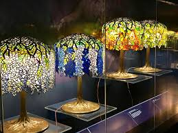the magnificent tiffany lamps at the new york historical society