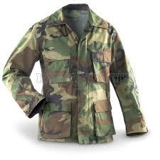 Camicia militare usata giacca originale esercito americano usa