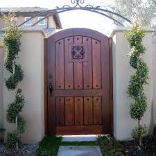 old world tuscan wood gate 202