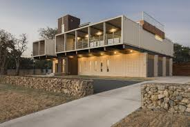 Steel Built Homes House Built With Pre Manufactured Steel Modules And Parallel