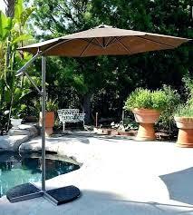 11 ft offset patio umbrella foot hanging patio umbrella offset coffee umbrellas 4 11 ft solar