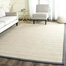 grey jute rug 9x12 handmade natural fiber marble dark 8 x