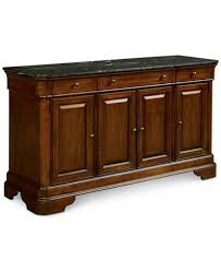 Bordeaux Marble Top Credenza, Created for Macy's