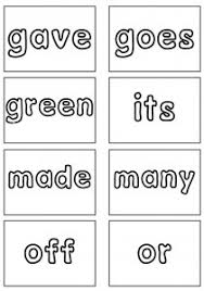 Second Grade Sight Words Flash Cards Dolch Sight Words Flash Cards Second Grade Sight Words