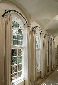 Image of New Arched Window Treatments